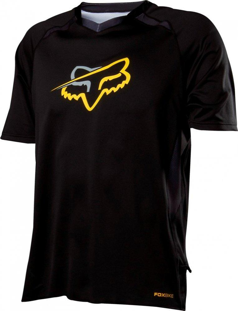 Вело джерси FOX TECH AIRCOOL Jersey [Black], XL