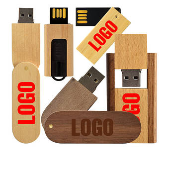 Деревянные USB флешки