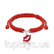 Браслет плетений UMa UMi Губки Червоний (419555300607)