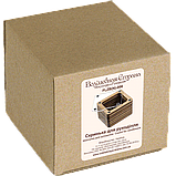 Деревянная мусорничка для обрезков нитей FLZB(N)-006, фото 2