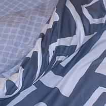Постельное белье ТМ TAG/2-спальные/Сатин ТМ TAG с компаньоном S336, фото 2