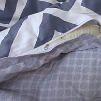 Постельное белье ТМ TAG/2-спальные/Сатин ТМ TAG с компаньоном S336, фото 3