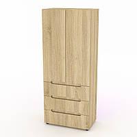 Шкаф книжный МС-22 дуб сонома
