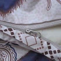 Постельное белье ТМ TAG/1.5-спальные/Сатин ТМ TAG с компаньоном S337, фото 3