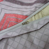 Постельное белье ТМ TAG/2-спальные/Сатин ТМ TAG с компаньоном S339, фото 3