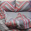 Постельное белье ТМ TAG/1.5-спальные/Сатин ТМ TAG с компаньоном S339, фото 2