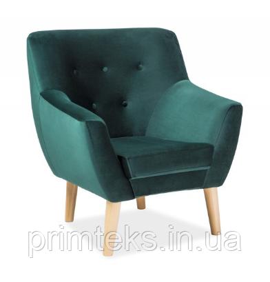 Крісло Nordic 1 Velvet ( Нордік 1 Вельвет зелений)
