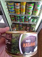 Мясо кабана тушоное