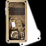 Дерев'яна мусорничка-скринька для обрізків ниток FLZB(N)-009, фото 2