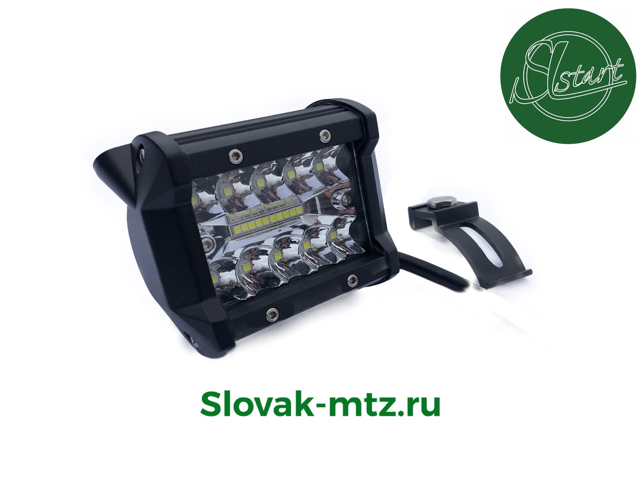 Светодиодная LED фара 60Вт (светодиоды 3w x20шт)