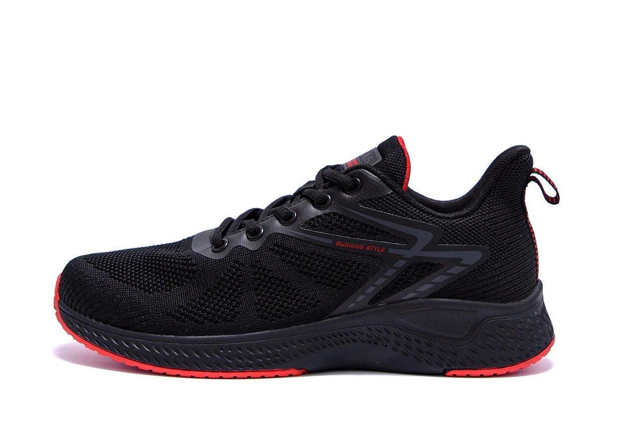 Чоловічі кросівки літні сітка BS TREND SYSTEM Black р. 46