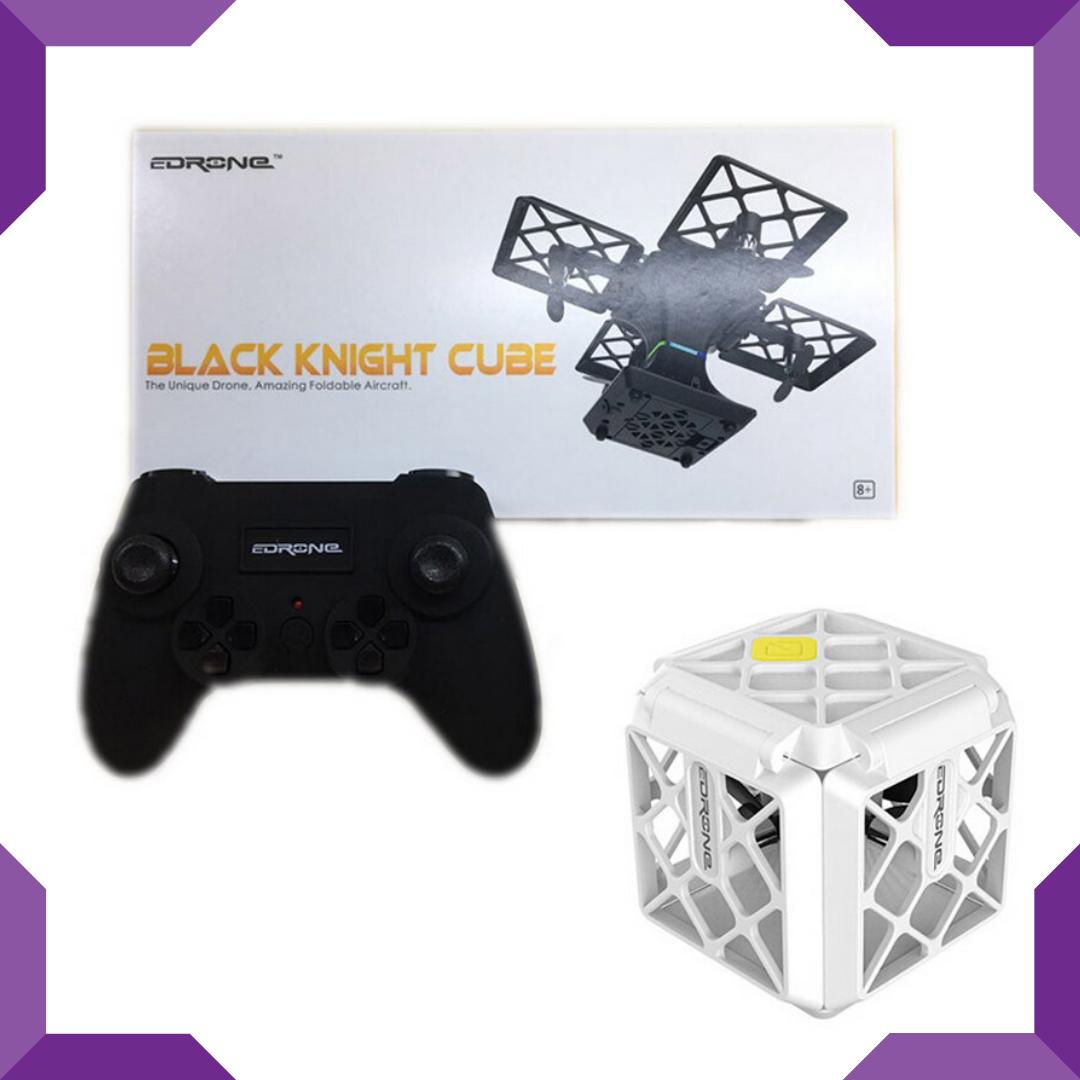 Квадрокоптер,літаючий дрон,Black Knight Cube 414,WIFI