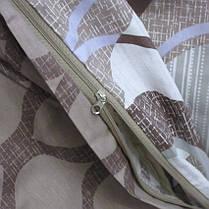 Постельное белье ТМ TAG/евро/Сатин ТМ TAG с компаньоном S341, фото 3