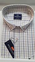 Батальная рубашка 100 % коттон Brossard- 2238вк
