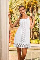 Длинное платье А силуэта для лета (S, M)