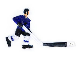 Хоккеист для настольного хоккея 12 синий