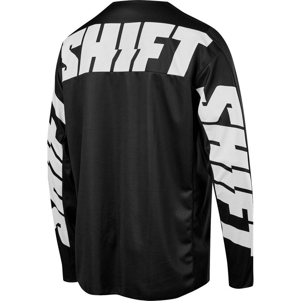 Мото джерси SHIFT WHIT3 YORK JERSEY [BLK], XL