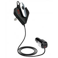 Трансмиттер FM V11 BT с Bluetooth гарнитурой модулятор