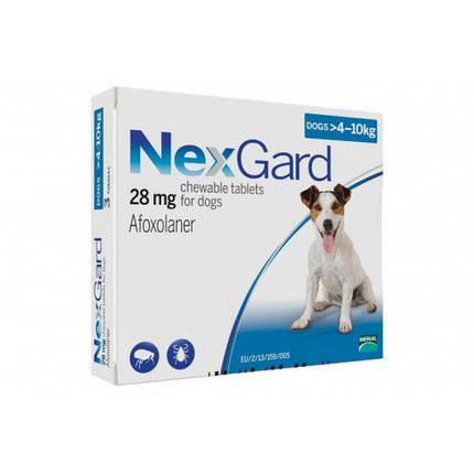 Таблетки Boehringer Ingelheim NexGard от блох и клещей для собак M, 4-10 кг, 1 таблетка, фото 2