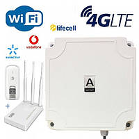 LTE Station ANTENITI Широкополосная панельная антенна для 3G/4G, фото 1