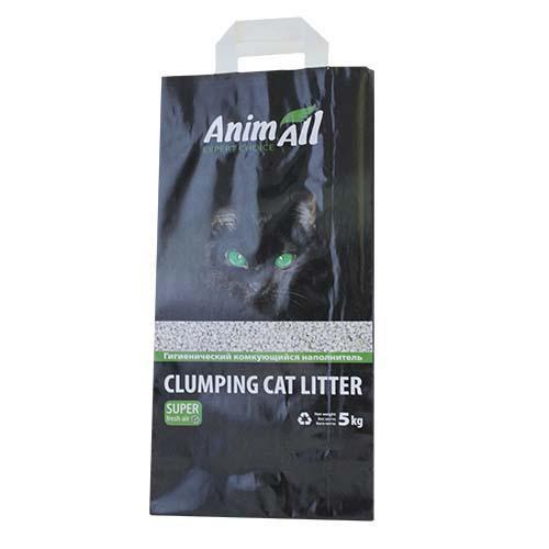 Бентонитовый наполнитель AnimAll для котов, без запаха, 5 кг