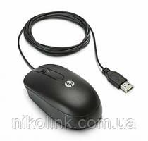 Мышь HP Optical SM-2022, USB, 2-Button, Scroll Mouse Black OEM (672652-001)