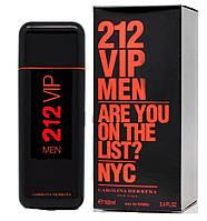 Мужская туалетная вода Carolina Herrera 212 VIP Men Are You on The List?, 100 мл