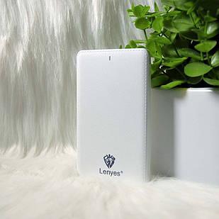 """Внешний аккумулятор Power bank """"Lenyes"""" X7 5000mAh Белый (White)"""