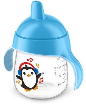 Чашка с носиком Philips Avent 12+, голубой, 260 мл (SCF753/00)