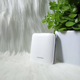 "Внешний аккумулятор Power bank ""Proda"" PPL-21 5000mAh Белый (White)"