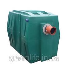 Сепаратор нафтопродуктів ФСНО 3, сепаратор нафти, з відстійником ( продуктивність 3 л/с)