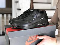 Кроссовки Мужские Хит Весна Черные Nike