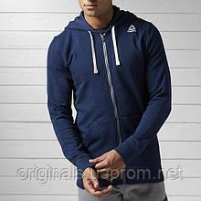 Мужская толстовка Reebok Elements Fleece Full Zip Hoodie BK5063
