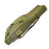 Чехол для удилищ 4-х секционный 1000х190 мм SMART FISHING KIBAS на 8 удилищ, фото 1