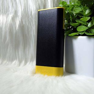 """Внешний аккумулятор Power bank """"Remax"""" RPL-19 10000mAh (Black / yellow)"""