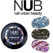 Гель для дизайна NUB Shimmer Gel