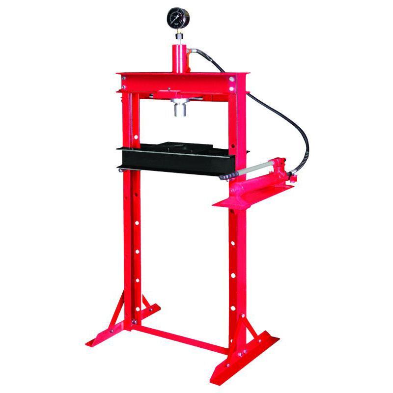 Пресс гидравлический с манометром 20т SIGMA (6206091)
