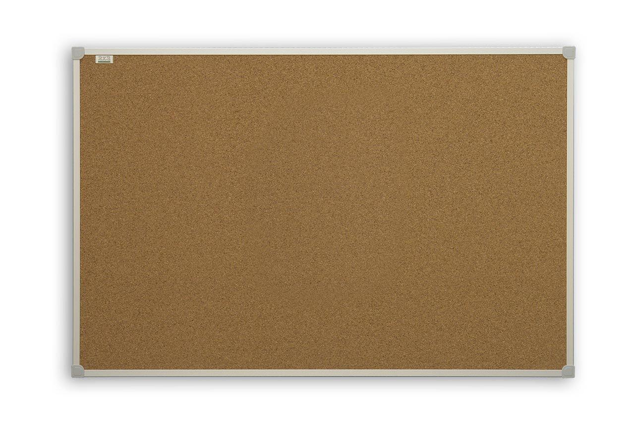 Доска пробковая 2x3 алюминиевая рамка С-Line 100 x 150 см