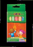 Набор мелков Zibi цветной 10 шт