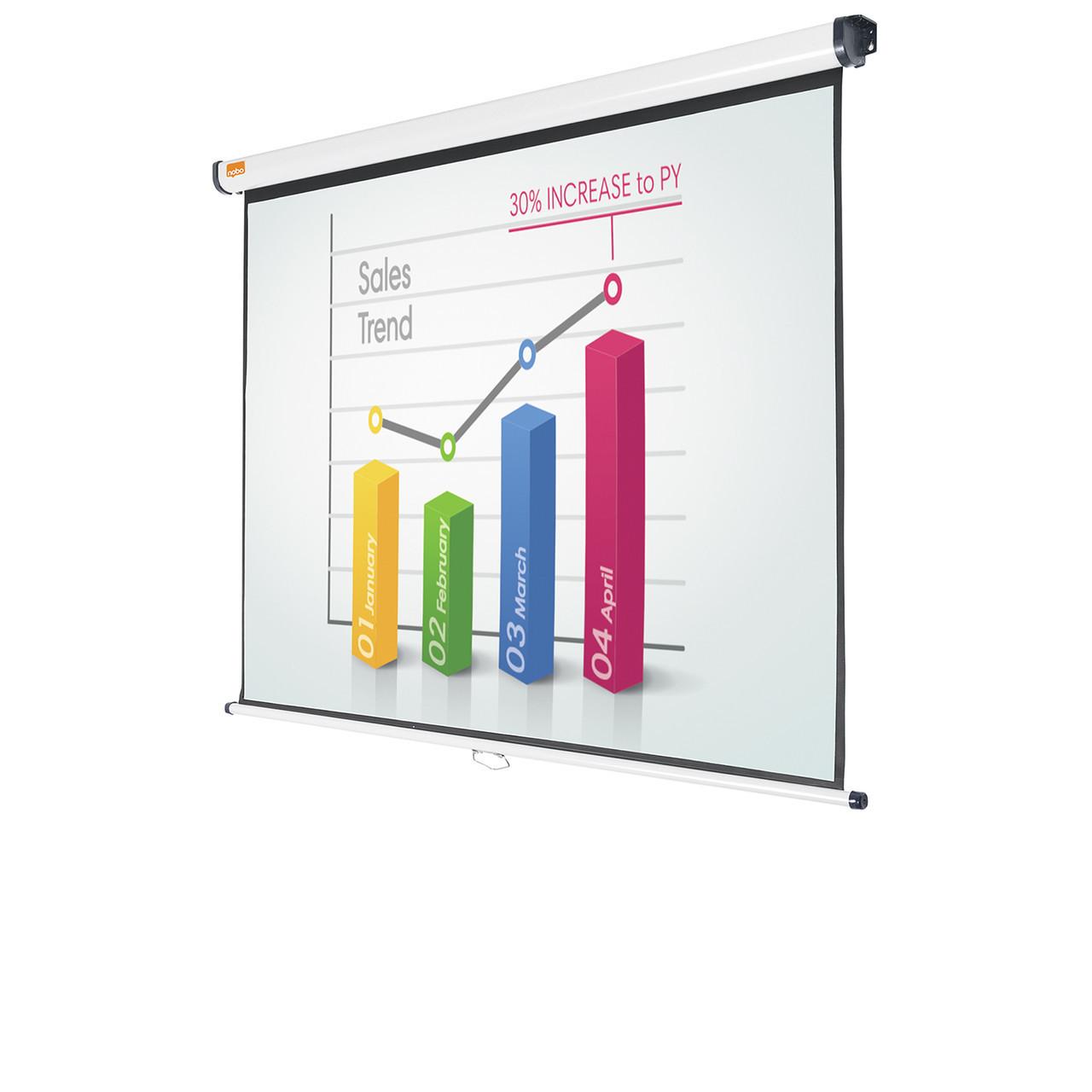 Экран проекционный Nobo Projection Screen 175 Х 132 см