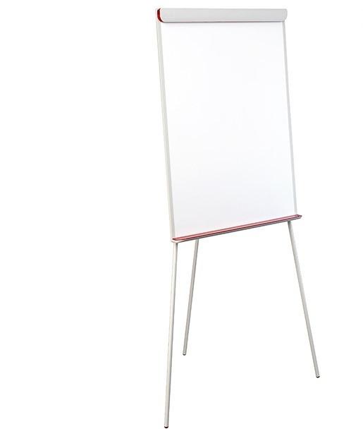 Флипчарт 2x3 Попчарт RED 70 x 100 см красная рамка