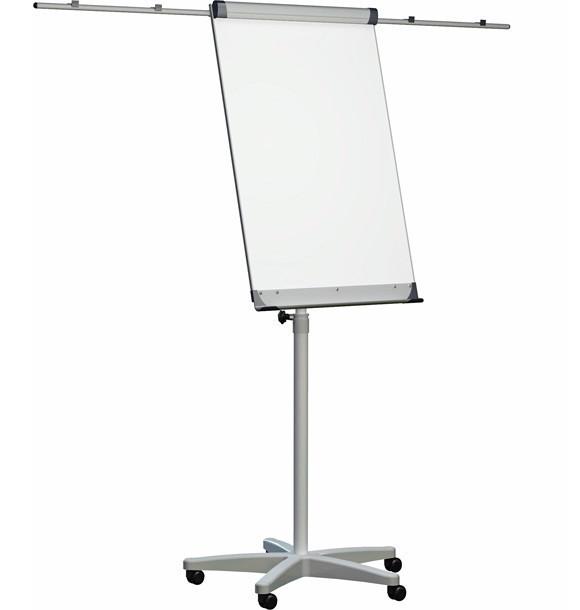 Флипчарт 2x3 Мобилчарт Про 70 x 100 см с универсальными держателями для бумаги