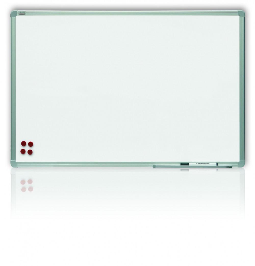 Доска магнитная маркерная 2x3 алюминиевая рамка 120 х 180 см лакированная поверхность