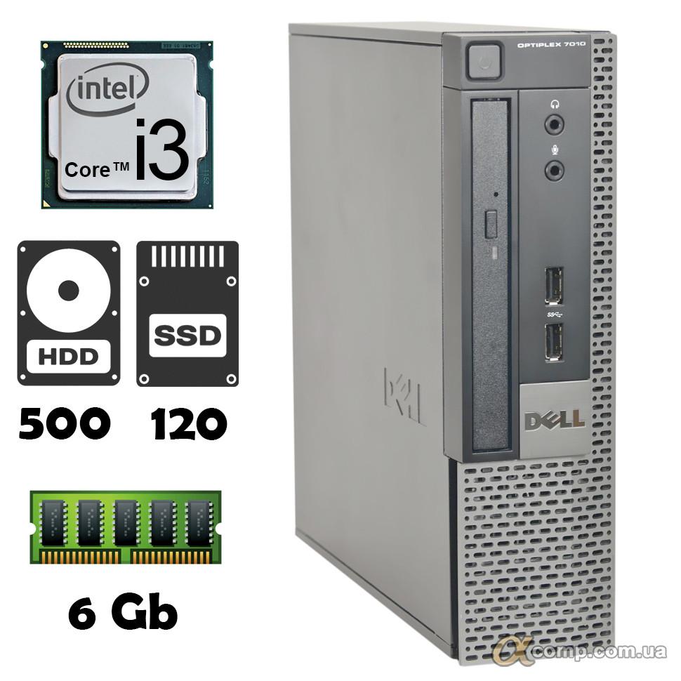 Компьютер Dell 7010 (i3-2100/6Gb/500Gb/ssd 120Gb) desktop БУ