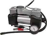 Миникомпрессор автомобильный двухпоршневой производительный 60 л/мин MIOL 81-118, фото 1