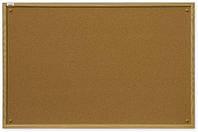 Доска пробковая 2x3 в деревянной рамке MDF 90 x 60 см, фото 1