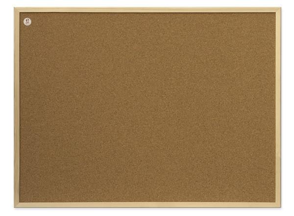 Доска пробковая 2x3 в деревянной рамке ECO 60 x 80 см