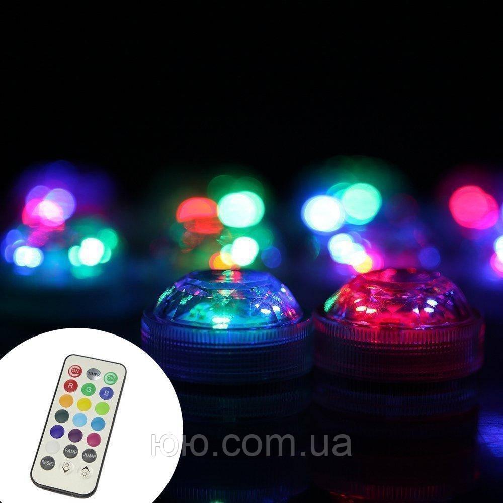 Светодиодная RGB подсветка для аквариумов, фонтанов, водоемов, кальянов с пультом