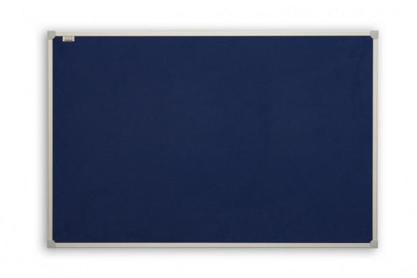 Доска текстильная 2x3 в алюминиевой рамке C-Line 90 x 120 см синяя