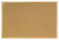 Доска джутовая 2x3 ECO в деревянной рамке 80 x 120 см, фото 1